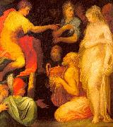 ABBATE, Niccolo dell The Continence of Scipio oil painting